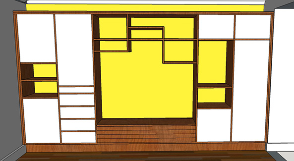 sketchup square on